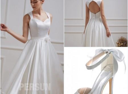 Mariez-vous en robe courte : nos conseils pour choisir la robe qui vous convient
