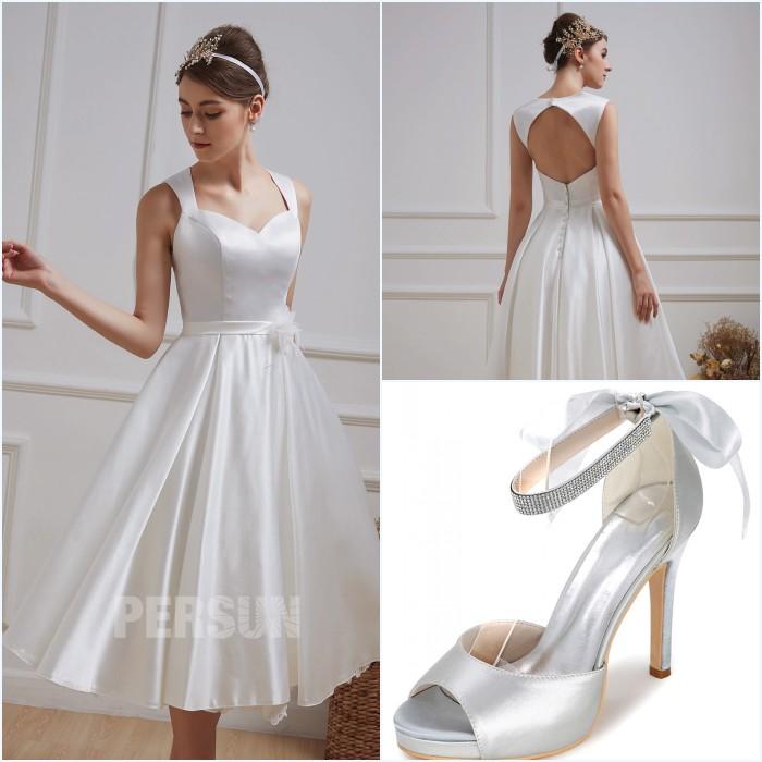 4ccc552f369 Mariez-vous en robe courte   nos conseils pour choisir la robe qui ...