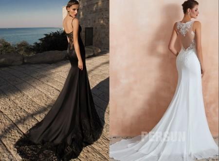Robe de mariée noire – un choix original pour une mariée courageuse